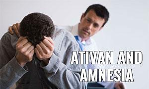 ativan and amnesia