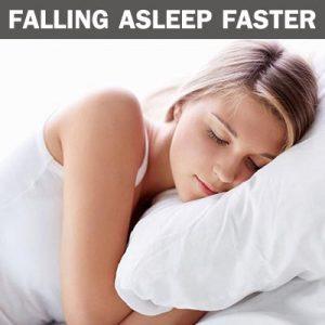 falling asleep faster